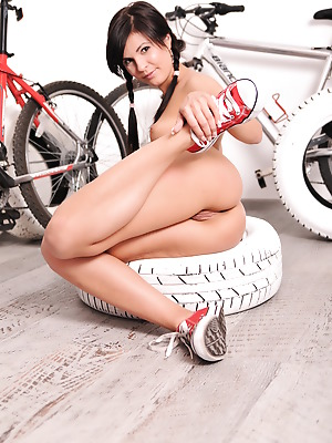 Money Cult  Sabina  Babes, Angel, Bike