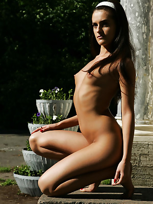 just-nude  Evgenia  Model, Park, Beautiful, Erotic, Softcore