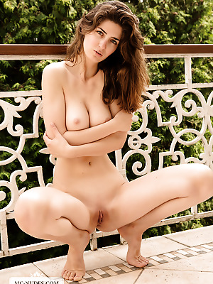 mc-nudes  Charlotta  Babes, Balcony, Softcore, Solo, Erotic, Beautiful