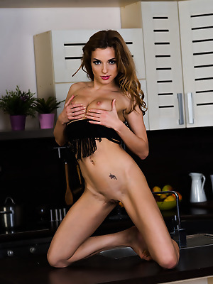 metartmoney  Alyssa A  Tits, Kitchen, Breasts, Boobs, Pussy, Softcore, Erotic