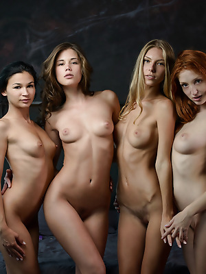 x-cash.com  Keira, The Red Fox, Angelica, Caprice  Model