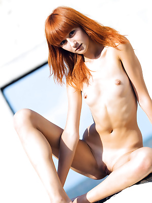 Money Cult  Avgusta  Pussy, Red Heads, Boobs, Breasts, Tits, Small tits, Outdoor, Teens, Shaved, Skinny, Solo