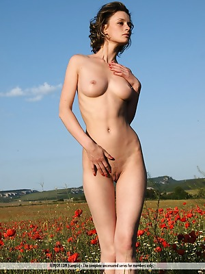 FemJoy  Abby  Beautiful, Natural, Park, Funny